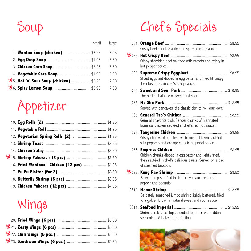 example of menu elita aisushi co